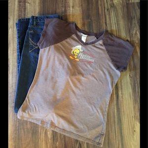Harley Davidson Women's T-shirt Sz L